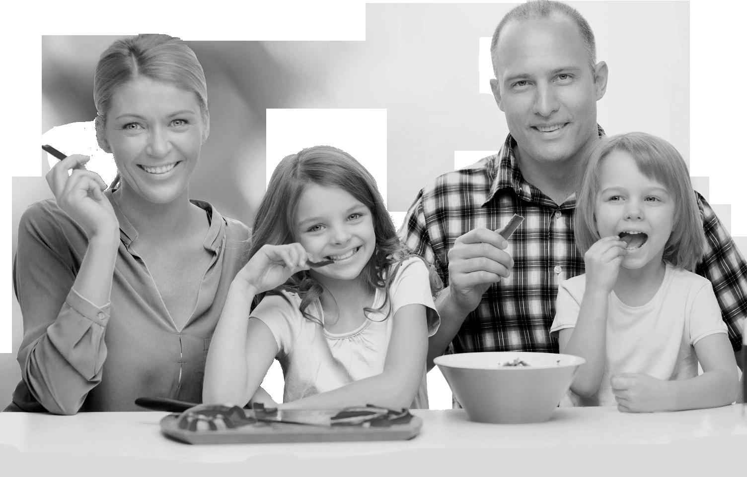 Une famille qui mange, sur les conseils d'Emmanuelle Couturier