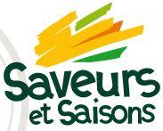 Le logo du magasin saveurs et saisons